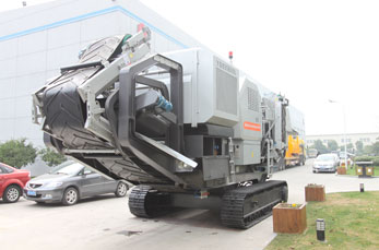Hydraulic-driven Track Mobile Plant